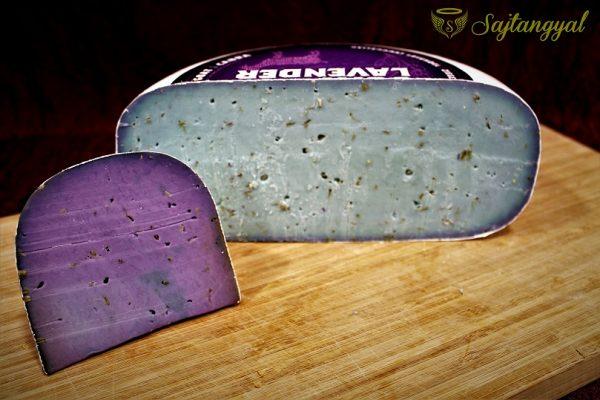 Levendulás kecske Gouda sajt